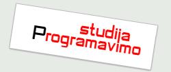 """""""Programavimo studija"""""""
